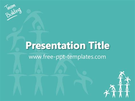 team building powerpoint presentation templates team building ppt template