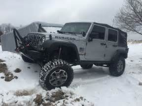 Jeep Wrangler Unlimited Rubicon Road 2014 Jeep Wrangler Unlimited Rubicon Jk Road In Snow