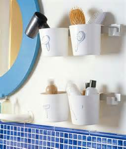 creative storage idea for small bathroom organization shelterness ideas