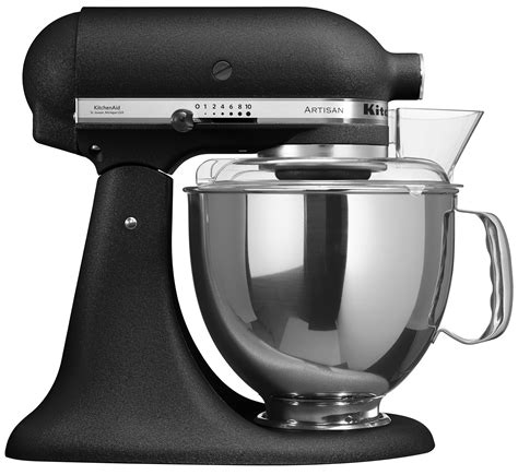 kitchenaid mixer black kitchenaid 5ksm150bbk artisan stand mixer cast iron black