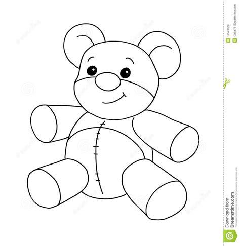 imagenes a blanco y negro para niños blanco y negro oso stock de ilustraci 243 n imagen de para