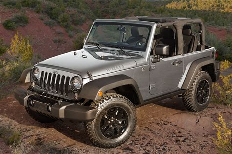 Jeep Edition 2015 Jeep Wrangler Willys Wheeler Edition Front Three