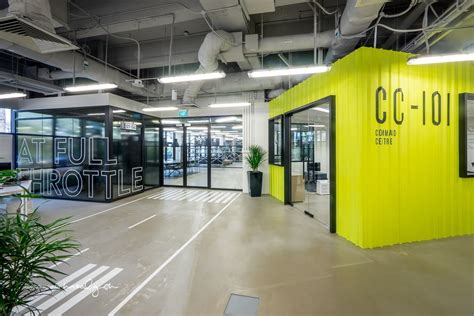 hangars cool singapore coworking space office space design office interior design