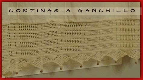 cortinas  crochetpuntillas  crochet  cortinas youtube