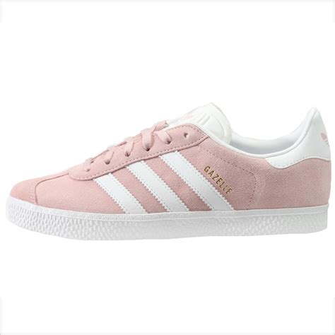 adidas gazelle 2 big by9544 icey pink suede athletic shoes size 6 ebay