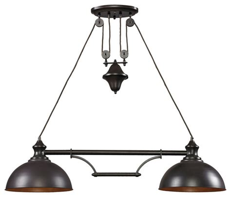 farmhouse pendant lighting kitchen farmhouse 2 light pendant bronze farmhouse
