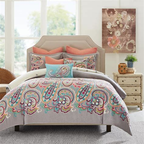 paisley comforter sets king persian paisley comforter set king beddingsuperstore com