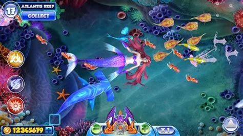 download game mod fishing joy mermaid joy fishing diary unlimited money mod apk