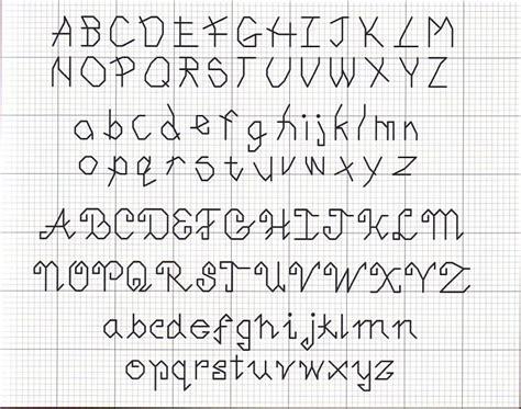 lettere alfabeto punto croce schemi schema punto croce alfabeto punto filza