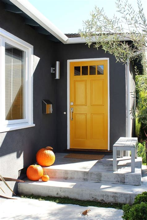 yellow front door yellow front doors front door freak