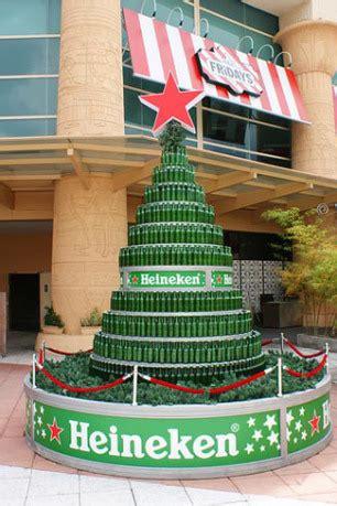 heineken christmas bottle 12 trees viral