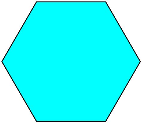 Hexagon Shape - hexagon shape clip cliparts