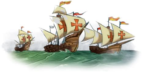 barcos de cristobal colon la niña la pinta yla santa maria enrielando la historia segundo vag 243 n descubrimiento de