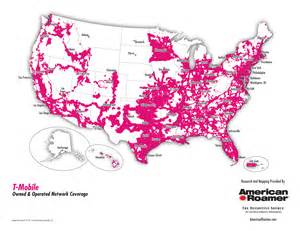 t mobile coverage map american roamer is the mapping intelligence source for at