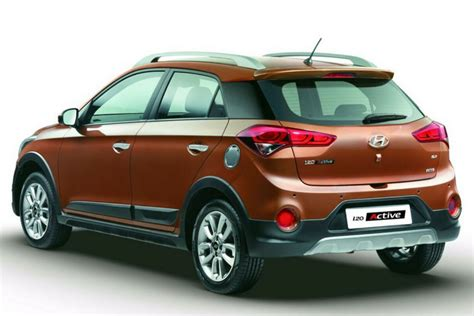 hyundai i20 active i20 active cross official pics engine details