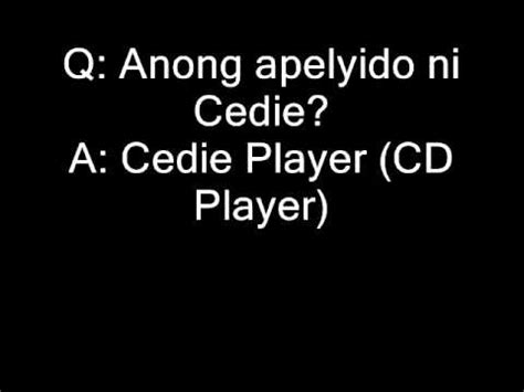 Or Question Tagalog Jokes Question And Answer Tagalog Q A Jokes Surname Quotes