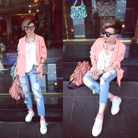 celebrity pink moto jeans pxkin zara boots celebrity pink rip jeans white tee