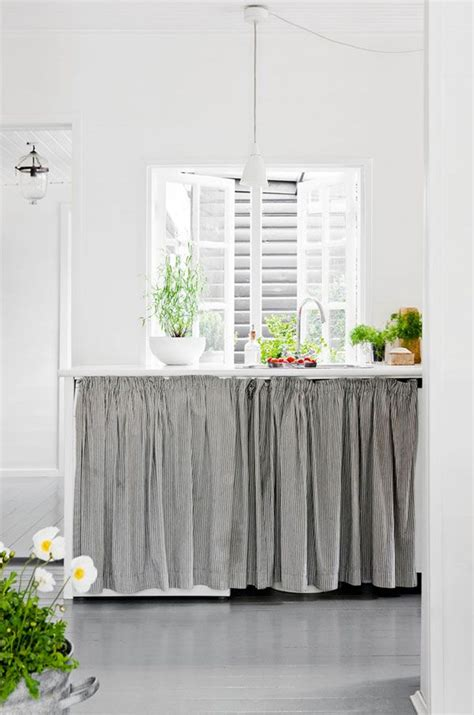 under the sink curtain 17 best images about conserve w cabinet curtains on