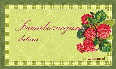 Etiketten Jam by Jam En Gelei 2