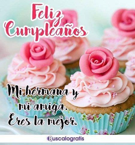 imagenes para felicitar cumpleaños en facebook felicitaciones de cumplea 209 os para una hermana o hermano