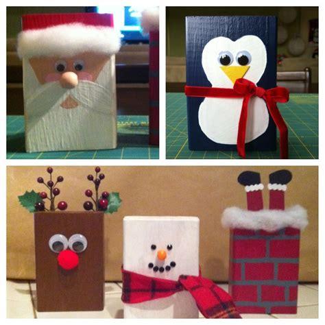 17 best ideas about christmas blocks on pinterest