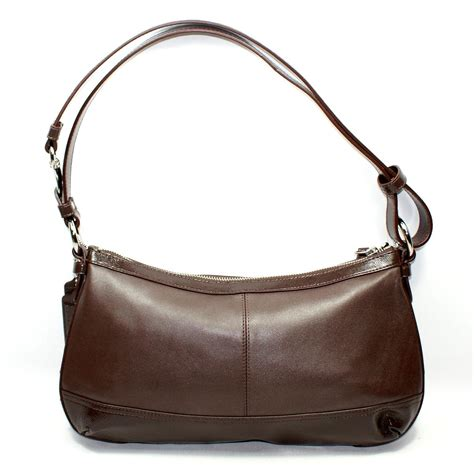 coach swing bag coach park leather east west duffle bag swing bag 19729