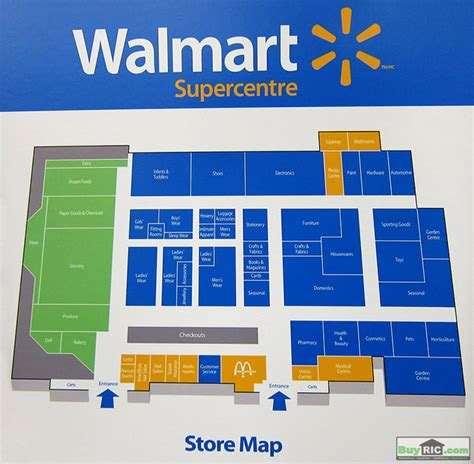 warehouse layout of walmart map of inside of walmart changes inside the new format