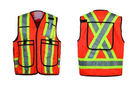 Laris Rompi Proyek Orange Bahan Kain Polyester 2015 kanada jual polyester triko kain oranye reflektif keselamatan rompi untuk pekerja