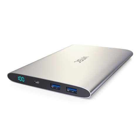 power bank for vinsic 20000mah power bank dual usb portable external