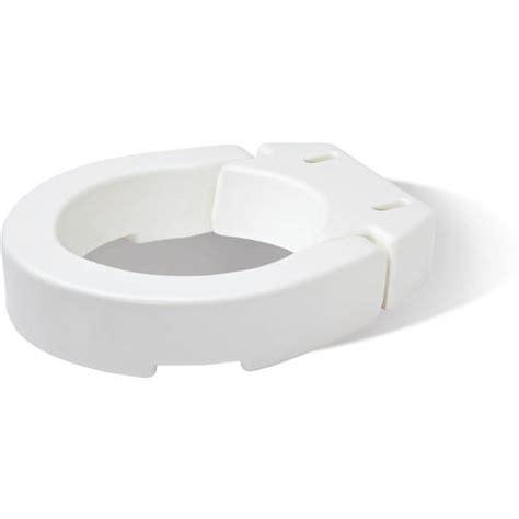 toilet seat riser walmart hinged toilet seat riser walmart