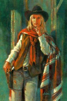 apache skies #2. female gunslinger. | rpg art: western and