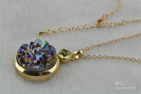 druzy stones for jewelry fashion jewelry pendent necklace druzy