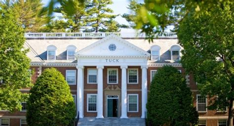 Dartmouth College Tuck Mba by Business School Admissions Mba Admission