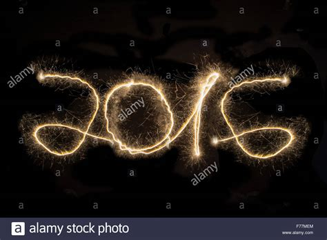 new year light up 2016 2016 new year s light painting black background