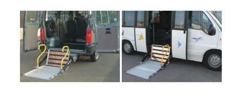 pedane per disabili per auto sponde pedane per disabili ripieghevoli per pulmini e