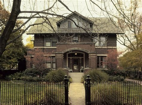 Craftsman Style Architecture Wright Plus 2012 Housewalk Vernon Skiff House Bricks