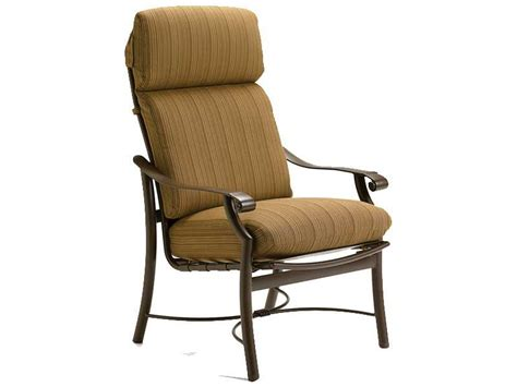 Replacement Dining Chair Cushions Tropitone Montreaux Replacement Cushion High Back Dining Chair High Back Swivel Rocker C720201