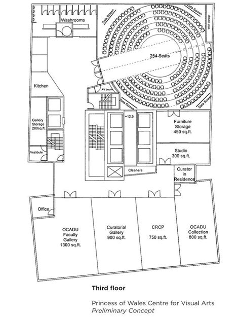 lecture hall floor plan zeidler vaughan and mirvish talk heritage in the