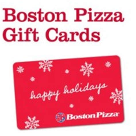 Restaurant Gift Cards Boston - boston pizza canada buy a 50 gift card receive a coupon for a personal pizza or pasta