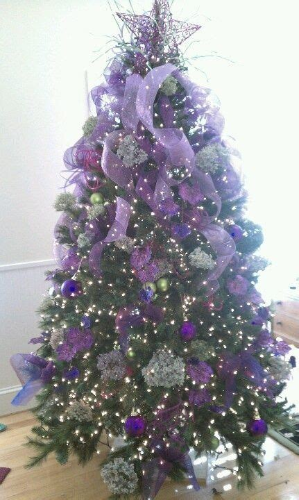 1000 ideas about purple christmas tree on pinterest