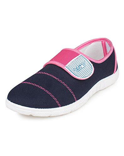 trv sports shoes trv s pink canvas sport shoes 8 uk shopping