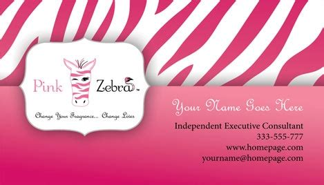 pink zebra business card template free pink zebra business card design 3