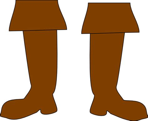 cartoon boat brown brown pirate boots clip art at clker vector clip art