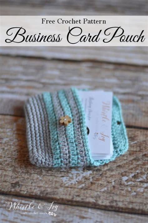 Crochet Business Cards