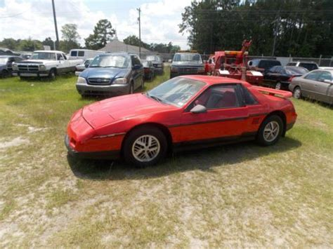 pontiac fiero problems sell used 1987 pontiac fiero se coupe 2 door 2 5l in