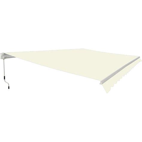 adjustable awning garden patio manual retractable awning canopy sun shade