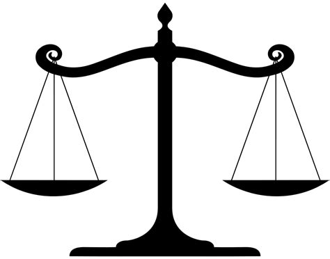 File:Balanced scale of Justice.svg - Wikiquote Law Scale Of Justice