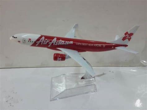 Souvenir Prancis Pajangan Diecast Pesawat Air 1 jual air asia merah pesawat terbang diecast pt023 serbakeren