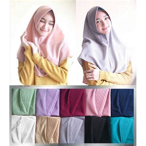 Jilbab Langsung Terbaru kerudung instan zahara daily jilbab modern anak muda terbaru anak abg langsung pakai