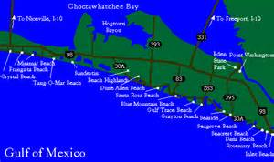 emerald coast florida map maps of the emerald coast rentals in destin
